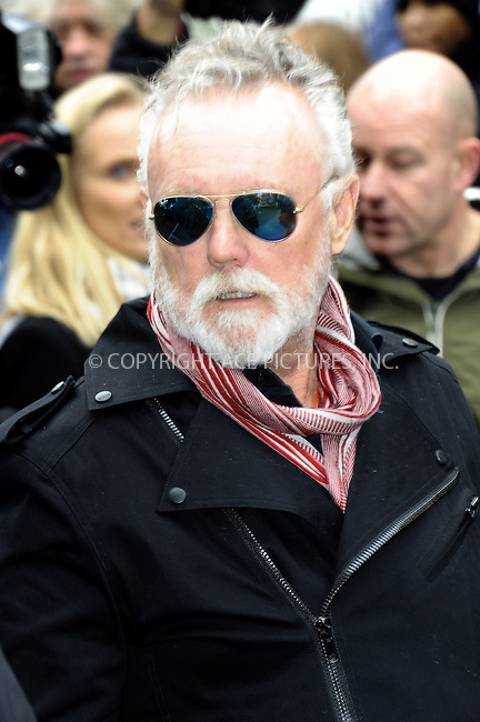 ACEPIXS.COM<br /> <br /> November 15 2014, London<br /> <br /> Roger Taylor arrives to record the Band Aid 30 single on November 15, 2014 in London<br /> <br /> By Line: Famous/ACE Pictures<br /> <br /> ACE Pictures, Inc.<br /> www.acepixs.com<br /> Email: info@acepixs.com<br /> Tel: 646 769 0430