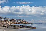 Coastal homes at Good Harbor Beach, Gloucester, Massachusetts, USA