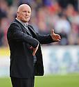 United manager Peter Houston  ...