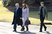 JAN 17 United States President Donald J. Trump Departs for Mar-a-Lago