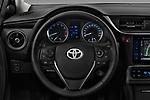 Car pictures of steering wheel view of a 2017 Toyota Corolla Lounge 4 Door Sedan Steering Wheel
