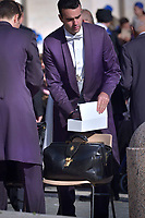 Bag the Pope Francis;Pope Francis during of a weekly general audience at St Peter's square in Vatican, Wednesday,November. 14, 2018.
