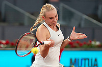Croatian Donna Vekic during Mutua Madrid Open 2018 at Caja Magica in Madrid, Spain. May 08, 2018. (ALTERPHOTOS/Borja B.Hojas) /NortePhoto.com