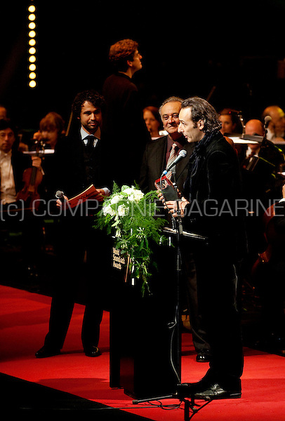 French film composer Alexandre Desplat at the 10th World Soundtrack Awards ceremony at the Ghent Filmfestival (Belgium, 23/10/2010)