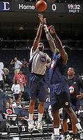 Carlton Brundidge at the NBPA Top100 camp June 18, 2010 at the John Paul Jones Arena in Charlottesville, VA. Visit www.nbpatop100.blogspot.com for more photos. (Photo © Andrew Shurtleff)
