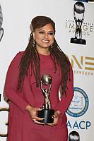 LOS ANGELES - JAN 15:  Ava DuVernay at the 49th NAACP Image Awards - Press Room at Pasadena Civic Center on January 15, 2018 in Pasadena, CA