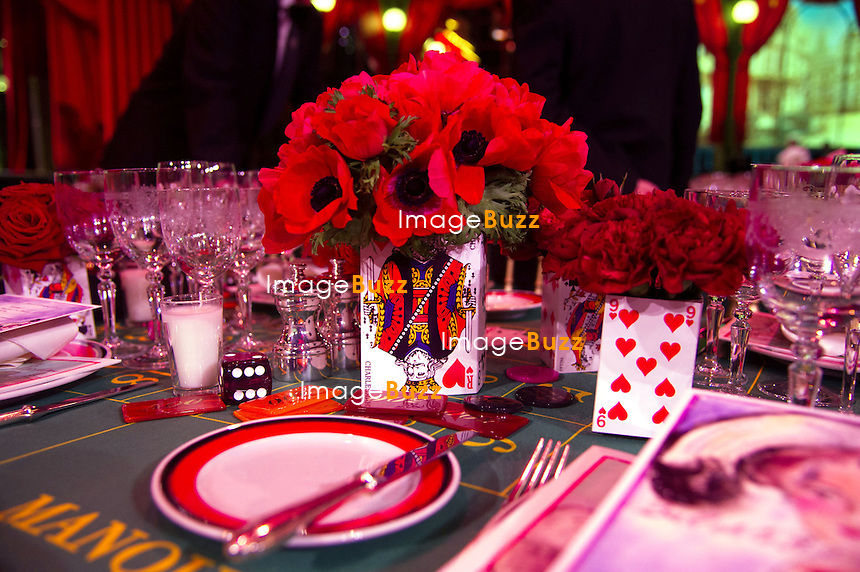 Monaco - March 23, 2013 - Bal de la Rose du Rocher imagined through the eyes of Karl Lagerfeld.