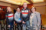 Fiona Cooke, Rose Smith, Dave Elton and Maura Moriarty, pictured at the Chain Gang information evening, held at the Meadowlands  Hotel, Tralee, on Thursday, February 27th.