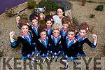 Winners of the Oireachtas Rince na hÉireann 2019 Minor Céilí (11-13) in the INEC on Wednesday, February 20th, were dancers from the Aine Murphy School of Dancing l-r: Sarah Piggott (Kilcummin), Kate Horgan (Fossa), Caoimhe O'Halloran (Kilcummin), Saoirse Clifford (Killarney), Fia Larkin (Lyre), Katie Heneghan (Dingle), Doireann Dwyer (Kilcummin), Maeve O'Connor (Kilcummin).