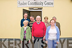 Tea Party : Attending the Asdee Active Retirement tea party in Asdee community centre on Monday last were in front Kathy Carmody, Joe Gorman & Maureen O'Connor. Back : Tony Hanlon, Donal dalton, Kathleeen Skinner & Willie Keane.