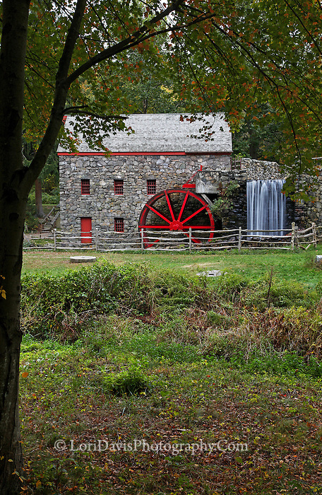 Wayside Grist Mill, Sudbury, Massachusetts