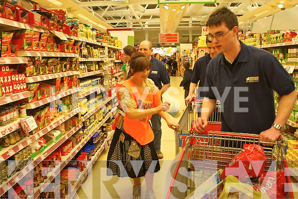 Kerry's Eye Trolley dash at Garveys Supervalu Listowel on Friday