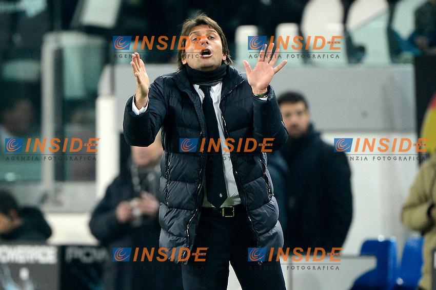 Antonio Conte Juventus<br /> Torino 02-02-2014 Juventus Stadium - Football 2013/2014 Serie A. Juventus - Inter Foto Giuseppe Celeste / Insidefoto
