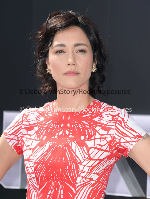 Sandrine Holt attends The Paramount Pictures L.A. Premiere of Terminator Genisys held at The DolbyTheatre  in Hollywood, California on June 28,2015                                                                               © 2015 Hollywood Press Agency