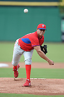 Philadelphia Phillies pitcher Victor Arano (46) during an Instructional League game against the New York Yankees on September 23, 2014 at the Bright House Field in Clearwater, Florida.  (Mike Janes/Four Seam Images)