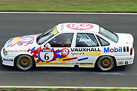 British Touring Car Championship at Knockhill. #6 Jeff Allam (GBR). Vauxhall Sport. Vauxhall Cavalier GSi.