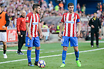 "Atletico de Madrid's Koke Resurrección and Gabriel ""Gabi"" Fernández during La Liga match between Atletico de Madrid and Sevilla CF at Vicente Calderon Stadium in Madrid, Spain. March 19, 2017. (ALTERPHOTOS/BorjaB.Hojas)"