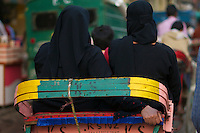 Muslim Girls  in Old Delhi India