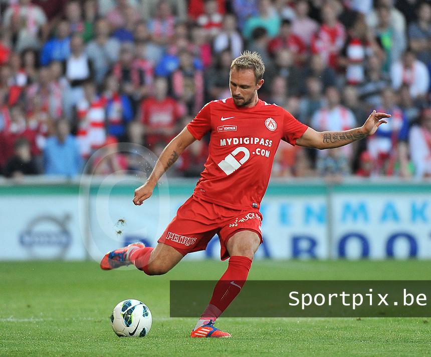 KV Kortrijk - Sporting Lokeren : Baptiste Martin<br /> foto VDB / Bart Vandenbroucke