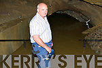 Donie O'Mahony owner of the Crag Caves, Castleisland checks out the flood damage at the Caves on Wednesday.   Copyright Kerry's Eye 2008