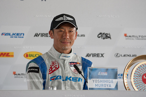 2017/06/04 Chiba, Red Bull Air Race World Championship Chiba. Race Day.<br /> Yoshihide Muroya, 1st Place<br /> (Photo by Michael Steinebach/AFLO)