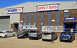 Screwfix business at Ransomes Europark, Ipswich, Suffolk, England, UK