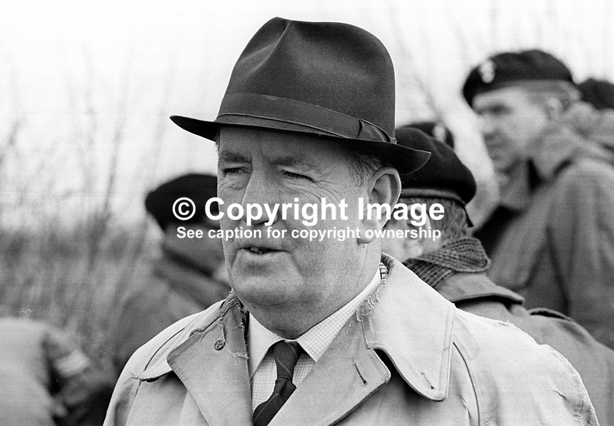 Tony Staughton, public relations officer, based N Ireland, British Army, Ministry of Defence, pictured at Army HQ, Lisburn. April 1967. 196604000161<br /> <br /> Copyright Image from Victor Patterson,<br /> 54 Dorchester Park, Belfast, UK, BT9 6RJ<br /> <br /> t1: +44 28 90661296<br /> t2: +44 28 90022446<br /> m: +44 7802 353836<br /> <br /> e1: victorpatterson@me.com<br /> e2: victorpatterson@gmail.com<br /> <br /> For my Terms and Conditions of Use go to<br /> www.victorpatterson.com