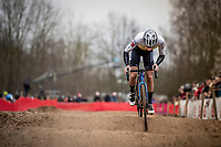 Tom Meeusen (BEL/Group Hens - Maes Containers)<br /> <br /> Elite + U23 Men's Race<br /> CX GP Leuven (BEL) 2020<br />  <br /> ©kramon
