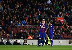 Rakitic and Messi, FC Barcelona v Deportivo de la Coruña en el Camp Now, Barcelona, Jornada 16, 17 Diciembre 2017. Photo Martin Seras Lima