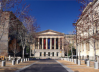 National Portrait Gallery, Washington, DC, District of Columbia, National Portrait Gallery and National Museum of American Art at National Mall in Washington D.C. in the spring.