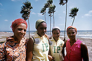 June 1, 1977. Pines Island, Cuba. Pines Island is also called the Island of the Youth, because children from 10-15 years are sent there for school where they learn agriculture and general studies during the week. Each weekend the children return home to spend time with families.