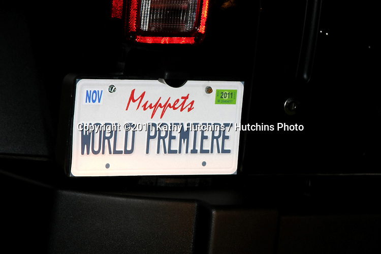 """LOS ANGELES - NOV 12:  Atmosphere at the """"Muppets"""" World Premiere at El Capitan Theater on November 12, 2011 in Los Angeles, CA"""