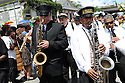 Uncle Lionel Batiste's jazz funeral in Treme