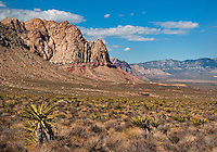 Red Rock Canyon outside Las Vegas.