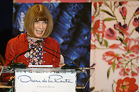 www.acepixs.com<br /> February 16, 2017  New York City<br /> <br /> Anna Wintour at the press conference for The Oscar de la Renta Forever Stamp First-Day-of-Issue Stamp Dedication Ceremony, Vanderbilt Hall at Grand Central Station on February 16, 2017 in New York City.<br /> <br /> Credit: Kristin Callahan/ACE Pictures<br /> <br /> <br /> Tel: 646 769 0430<br /> Email: info@acepixs.com