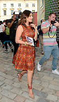 Kelly Brook.Somerset House, London 14/09/12..Photo by Jane Burrows/People Press.