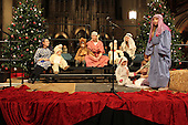 Rockefeller Chapel held &quot;A Service of Nine Lessons and Carols for Christmas Eve&quot; Tuesday evening.<br /> <br /> Children and adults alike were part of a Nativity performance.