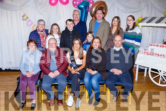 Leena Kissane Beaufort celebrated her 18th birthday with her family and friends in the Inn Between bar on Saturday night