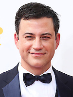 LOS ANGELES, CA, USA - AUGUST 25: Jimmy Kimmel arrives at the 66th Annual Primetime Emmy Awards held at Nokia Theatre L.A. Live on August 25, 2014 in Los Angeles, California, United States. (Photo by Celebrity Monitor)
