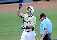 Florida International University infielder Mike Martinez (40) plays against Florida Atlantic University. FAU won the game 9-3 on March 18, 2012 at Miami, Florida.