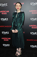 www.acepixs.com<br /> <br /> April 20 2017, New York City<br /> <br /> Emily Browning arriving at the premiere of 'American Gods' at the ArcLight Cinemas Cinerama Dome on April 20, 2017 in Hollywood, California.<br /> <br /> By Line: Peter West/ACE Pictures<br /> <br /> <br /> ACE Pictures Inc<br /> Tel: 6467670430<br /> Email: info@acepixs.com<br /> www.acepixs.com