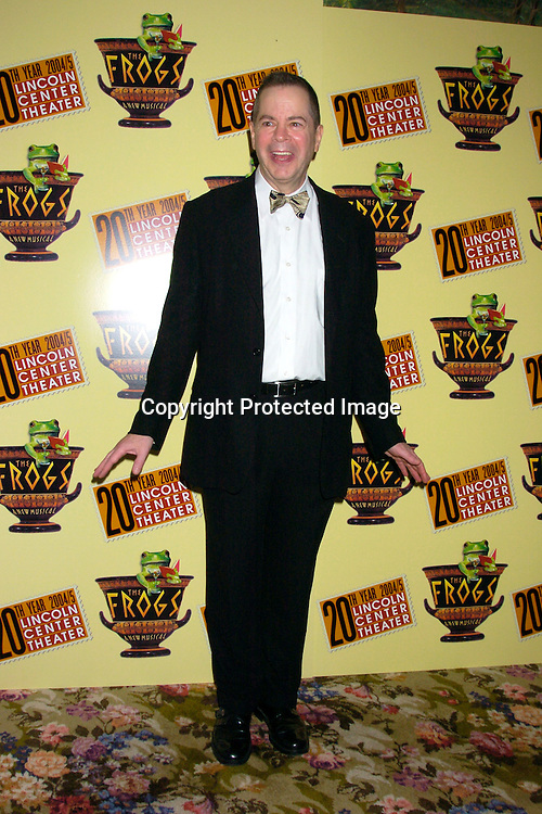 "Peter Bartlett ..at the opening night party for Lincoln Center's Production of ..""The Frogs"" on July 22, 2004 at The Tavern on the Green. ..Photo by Robin Platzer, Twin Images"