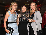 Orla and Annmarie Lynch and Jill McEvoy at the Dreadnots GFC annual Dinner in the Westcourt Hotel. Photo:Colin Bell/pressphotos.ie