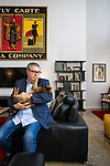 SA Home and Life mag, My Place with Stuart Maunder, State Opera SA artsistic director, at his home in Adelaide . Photo : Nick Clayton.