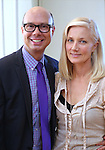 Richard Ridge and Joely Richardson attends the Meet & Greet for 'The Belle of Amherst' at the Shetler Studios on September 12, 2014 in New York City.