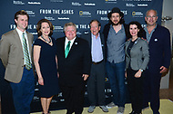 WASHINGTON, DC - JUNE 8: Brandon Dennison, Susan Goldberg, Mayor Dale Ross, Carl Pope, Michael Bonfiglio and film participants attend an advanced screening of 'From the Ashes' presented by National Geographic and Bloomberg Philanthropies at National Geographic Headquarters on June 8, 2017 in Washington, DC. (Photo by Don Baxter/National Geographic/PictureGroup)