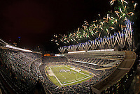 Fireworks explode over Soldier Field as ND goes to 5-0.