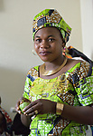 Eca Zakaria is a refugee from the Democratic Republic of the Congo who lives in Durham, North Carolina, where she was resettled with assistance from Church World Service.<br /> <br /> <br /> Photo by Paul Jeffrey for Church World Service.