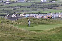 Gerard Dunne (Co. Louth) on the 3rd fairway during Matchplay Round 1 of the South of Ireland Amateur Open Championship at LaHinch Golf Club on Friday 22nd July 2016.<br /> Picture:  Golffile | Thos Caffrey<br /> <br /> All photos usage must carry mandatory copyright credit   (© Golffile | Thos Caffrey)