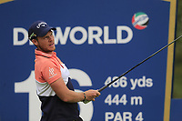 Danny Willett (ENG) on the 16th tee during the 1st round of the DP World Tour Championship, Jumeirah Golf Estates, Dubai, United Arab Emirates. 21/11/2019<br /> Picture: Golffile | Fran Caffrey<br /> <br /> <br /> All photo usage must carry mandatory copyright credit (© Golffile | Fran Caffrey)